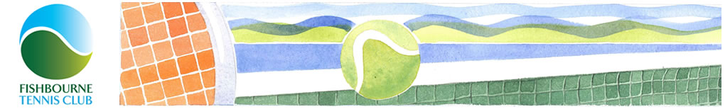 Fishbourne Tennis Club Logo